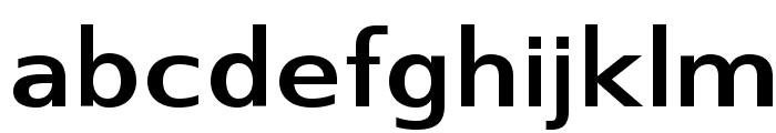 SwitzeraADF-BoldExt Font LOWERCASE