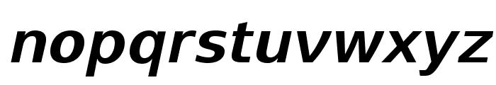 SwitzeraADF-BoldItalic Font LOWERCASE