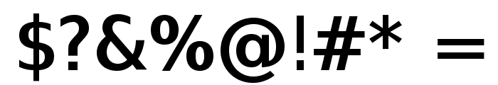SwitzeraADF-DemiBold Font OTHER CHARS