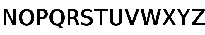 SwitzeraADF-DemiBold Font UPPERCASE