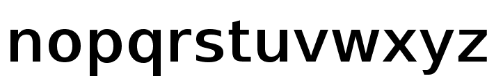 SwitzeraADF-DemiBold Font LOWERCASE