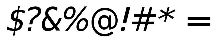 SwitzeraADF-ExtItalic Font OTHER CHARS