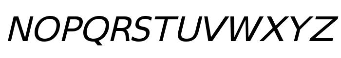 SwitzeraADF-ExtItalic Font UPPERCASE