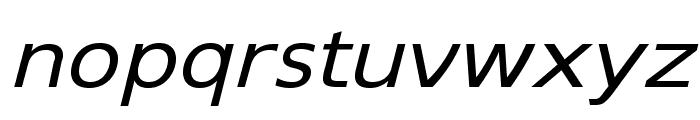 SwitzeraADF-ExtItalic Font LOWERCASE