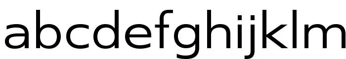 SwitzeraADF-Ext Font LOWERCASE