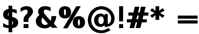 SwitzeraADF-ExtraBold Font OTHER CHARS