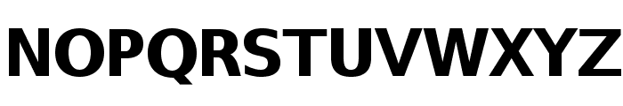 SwitzeraADF-ExtraBold Font UPPERCASE
