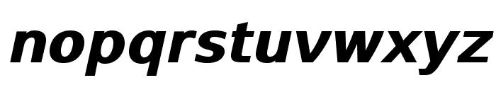 SwitzeraADF-ExtraBoldItalic Font LOWERCASE