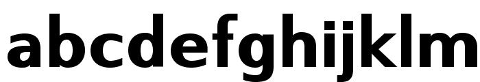 SwitzeraADF-ExtraBold Font LOWERCASE