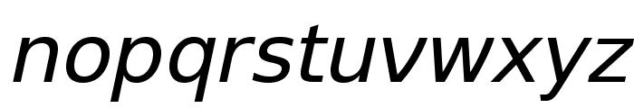 SwitzeraADF-Italic Font LOWERCASE