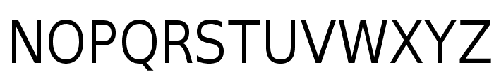 SwitzeraADF-Light Font UPPERCASE