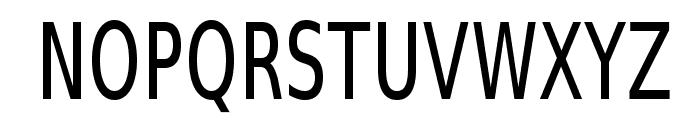 SwitzeraADF-LightCond Font UPPERCASE