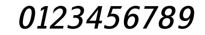SwitzeraADF-MediumItalic Font OTHER CHARS