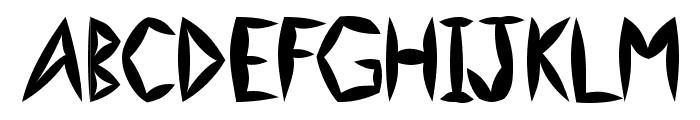 Swollen Slightly Font UPPERCASE