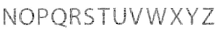 Sword of Circuits-Regular Font UPPERCASE