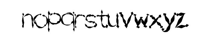 SwordFighting Font LOWERCASE