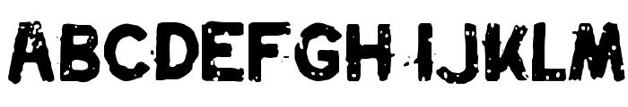 Swordfish Font UPPERCASE