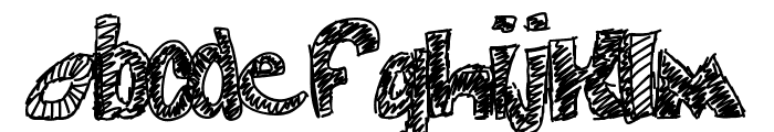 swag Font LOWERCASE
