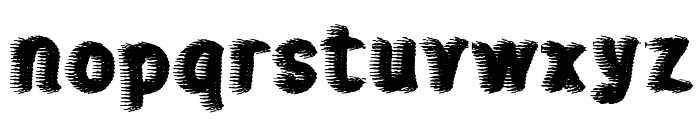sweater Font LOWERCASE