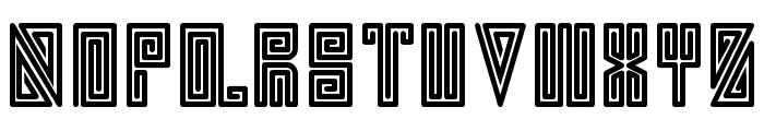 swirl Font UPPERCASE
