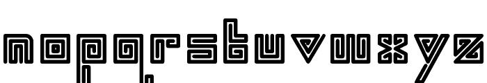 swirl Font LOWERCASE