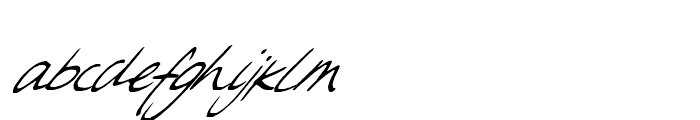 Sweet Steeffie Regular Font LOWERCASE