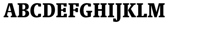 Swift Black Condensed Font UPPERCASE