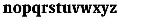 Swift Black Condensed Font LOWERCASE