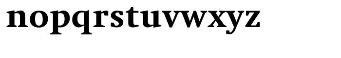 Swift Heavy Font LOWERCASE
