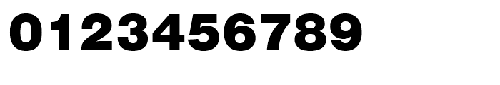 Swiss 721 Black No 2 Font OTHER CHARS