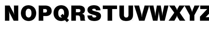 Swiss 721 Black No 2 Font UPPERCASE