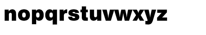 Swiss 721 Black No 2 Font LOWERCASE