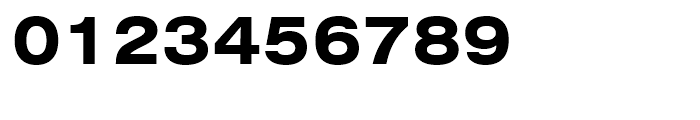 Swiss 721 Bold Extended Font OTHER CHARS