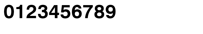 Swiss 721 Bold Font OTHER CHARS