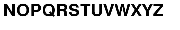 Swiss 721 Bold Font UPPERCASE
