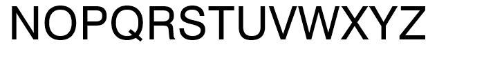 Swiss 721 Hebrew Roman Font UPPERCASE
