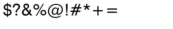 Swiss 721 Roman Font OTHER CHARS