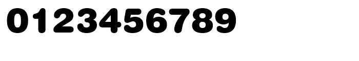 Swiss 721 Rounded Black Font OTHER CHARS