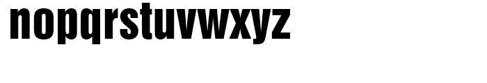 Swiss 921 Regular Font LOWERCASE