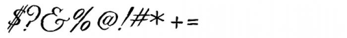 Swank Regular Font OTHER CHARS
