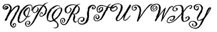Swank Std Bold Font UPPERCASE