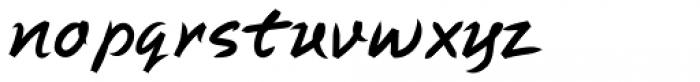 Swash Font LOWERCASE