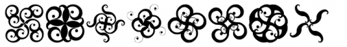 Swashticklers Font LOWERCASE