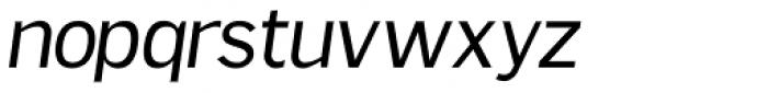 Sweck Italic Font LOWERCASE