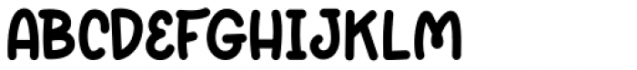 Sweet Cupcake Regular Font UPPERCASE