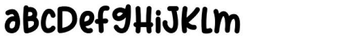 Sweet Cupcake Regular Font LOWERCASE