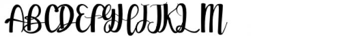 Sweet Girls Regular Font UPPERCASE