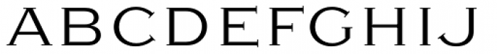Sweet Gothic Serif Light Font UPPERCASE