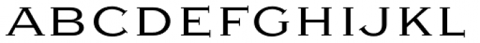 Sweet Gothic Serif Light Font LOWERCASE