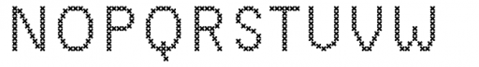 Sweet Home Sans Serif Font UPPERCASE